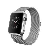 苹果 Apple Watch 智能手表(不锈钢/42毫米表壳/米兰尼斯表带)产品图片主图