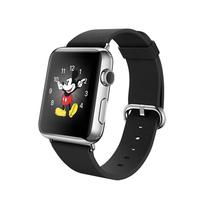 苹果 Apple Watch 智能手表(黑色/38毫米表壳/经典扣式表带)产品图片主图