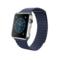苹果 Apple Watch 智能手表(亮蓝色/42毫米表壳/皮制回环形表带)产品图片1