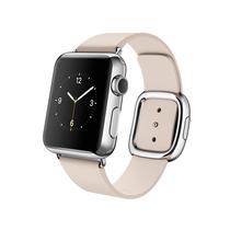 苹果 Apple Watch 智能手表(浅粉色/38毫米表壳/现代风扣式表带)产品图片主图