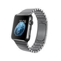 苹果 Apple Watch 智能手表(深空黑色/38毫米表壳/链式表带)产品图片主图
