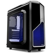 游戏悍将 MVP/黑白 Mini经典游戏机箱(侧透/U3/长显卡/侧插/全兼容SSD)
