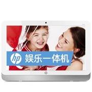 惠普 22-1011cl 21.5英寸一体电脑 (J1800 4GB 500GB NV 810A 1G独显 DVD刻录 wifi 键鼠 DOS)白色