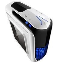 金河田 超越 荣耀版 机箱 (U3/SSD/背线/风扇控制/水冷/读卡器/侧透/标配2个LED风扇)产品图片主图