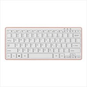 APOINT /A点 A3000 无线键盘超薄 巧克力键盘充电 白色笔记本 X结构 白色