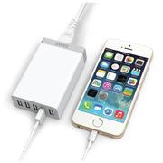Anker 五口USB充电器25W 5A超快速手机平板通用万能多口充电器 白色