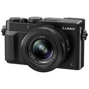 松下 Lumix DMC-LX100 数码相机 黑色 4K(M4/3英寸传感器 F1.7-2.8大光圈徕卡镜头 实时取景器)