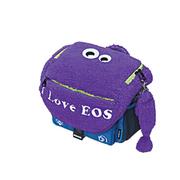 佳能 萌萌怪EOS原装单肩摄影包  数码单反相机包 可爱包包萌萌哒~~ 浪漫紫色