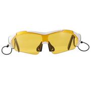 悍科(HK) K1 触摸蓝牙眼镜司机必备太阳镜墨镜偏光眼镜 独创触摸蓝牙眼镜 白色 官方标配