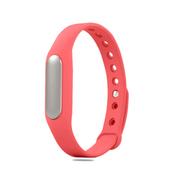 小米 手环 智能防水运动手环  计步器 可监测健康睡眠 黑色原封+粉色非腕带
