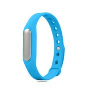 小米 手环 智能防水运动手环  计步器 可监测健康睡眠 黑色原封+蓝色非腕带