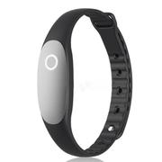 bong 2 智能手环睡眠监测运动计步器 防水蓝牙可穿戴设备腕带 适用安卓/IOS兼容 砚黑色