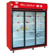 雪花 展示柜冷藏 保鲜柜 冷藏柜 点菜柜 冷藏陈列柜 商用冰柜 BD/BC-656  1.5米