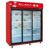 雪花 展示柜冷藏 保鲜柜 冷藏柜 点菜柜 冷藏陈列柜 商用冰柜 BD/BC-656  1.5米产品图片主图