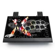 拳霸(QANBA) Q1-斩 夹式可分拆PS3/PC/安卓街机游戏摇杆手柄 游聚清水杆可改方圆加三和键