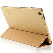 虎克 七彩虹i108W 3G平板电脑皮套 i108W 4G保护套 10.1寸专用支撑套 土豪金