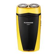 朗威 Rs867充电式双刀头电动剃须刀 黄色