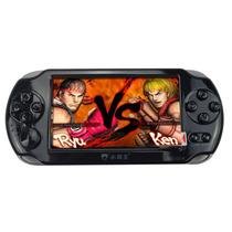 小霸王 掌上PSP游戏机8000A 4.3寸屏9000款经典可下载游戏 儿童GBA掌机街机王 黑色 标配8G版本+16G内存卡产品图片主图
