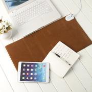 GRID-IT 多功能电热暖桌垫迷你款 鹅绒棕