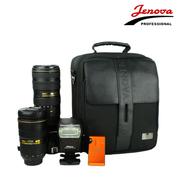 吉尼佛 单肩单反相机包41130 尼康佳能摄影包 配件包  可装带手柄数码相机 618大促中 黑色