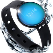 bong USAMS智能手环男运动防水计步器腕带睡眠监测蓝牙 极致蓝