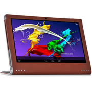 虎克 联想YOGA平板2 13.3寸平板电脑皮套 联想YOGA2 Pro 1380F保护 商务款-典雅棕 13.3寸-Pro 1