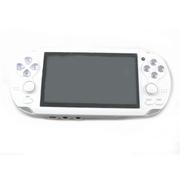 其他 旌翔PSP双摇杆带游戏震动掌上游戏机4.3寸屏PSP/街机/GBA/SFC掌机模拟器 白色