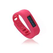 喜越 D2健康运动智能手环睡眠监测计步器安卓苹果蓝牙手镯 玫红色2.1版本