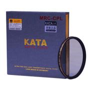 卡塔 金环超薄MRC-CPL镜片82mm偏振镜