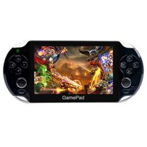 小霸王 智能掌上游戏机炫影69增强版 5寸电容屏安卓双核平板PSP带WIFI摄像头掌机PS1 黑色 标配8G版本+16G内存卡产品图片主图