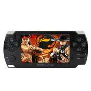 小霸王 掌机PSP游戏机68 4.3寸触屏街机学习游戏双系统内置9000款游戏 可下载MP5 白色 标配8G版本