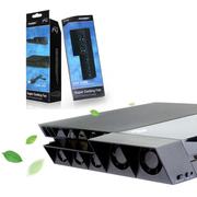 其他 利乐普 PS4主机温控风扇 PS4主动式散热风扇 自动调温风扇 保护爱机避免PS4蓝机发生 黑色
