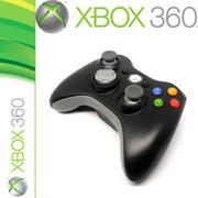 其他 利乐普 XBOX360E XBOX360 SLIM平台通用无线手柄带震动无线手柄摇杆 黑色