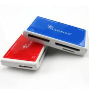 源欣 四合一读卡器 MS M2 SD TF卡多功能读卡器 YXC-20