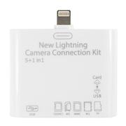 凯普仕 TF卡 SD手机相机多功能万能读卡器相机读卡器 适用iPadAir/mini