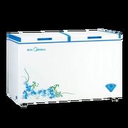 美的 BD/BC-353DKMQ 353升卧式冷柜顶盖门单温冷冻冷藏转换冰柜