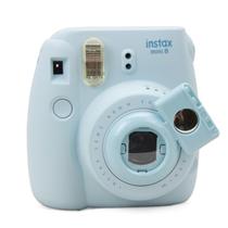 彩友乐 拍立得相机mini8/mini7s通用自拍镜 卡通相机款 天蓝色产品图片主图
