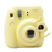 彩友乐 拍立得相机mini8/mini7s通用自拍镜 I LOVE YOU款 黄色