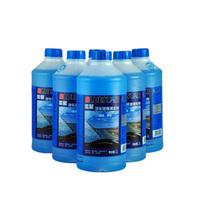 蓝星 玻璃水车用玻璃清洁剂 汽车玻璃水 雨刮水非浓缩汽防冻玻璃水 -30度防冻玻璃水一箱8瓶装产品图片主图