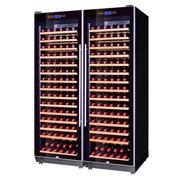 赛鑫 SRT-168A压缩机双开门组合恒温红酒柜 30个榉木架