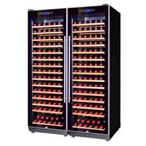 赛鑫 SRT-168A压缩机双开门组合恒温红酒柜 30个榉木架产品图片主图