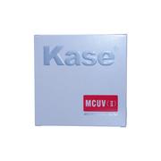 卡色 40.5mm  UV镜 索尼NEX-5T A5000 A5100 A6000 UV镜 二代多层镀膜银色