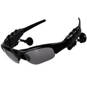 优胜仕 USAMS智能蓝牙眼镜头戴式影院耳机偏光太阳镜近视 黑色-单镜片
