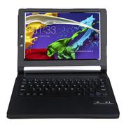 SEENDA 联想YOGA平板2保护套Tablet2-1050F无线键盘全包边皮套 黑色