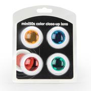 彩友乐 拍立得mini50s相机专用四色滤镜套装 滤镜