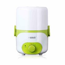 十度良品 SD-970电热饭盒三档开关双层内胆负压保鲜插电加热保温饭盒 草绿色产品图片主图