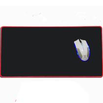 掌握者 定制鼠标垫超大 锁边加厚 英雄联盟lol cf专业竞技游戏桌垫 600*300*3特大红锁边垫产品图片主图