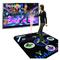 舞霸王 新款节奏达人专用手舞足蹈跳舞毯两用配8G内存卡无限下载单人跳舞机产品图片4
