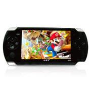 小霸王 掌机psp游戏机s4000A 4.3寸8G街机之王带摄像内置万款经典游戏 8G 官方标配+4G