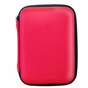 品怡 2.5寸移动硬盘包 移动电源包 数码相机包 防震防水旅行包 红色
